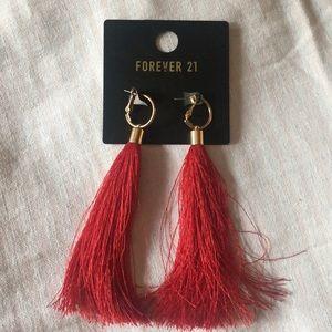 NWT Forever 21 Fringe Earrings